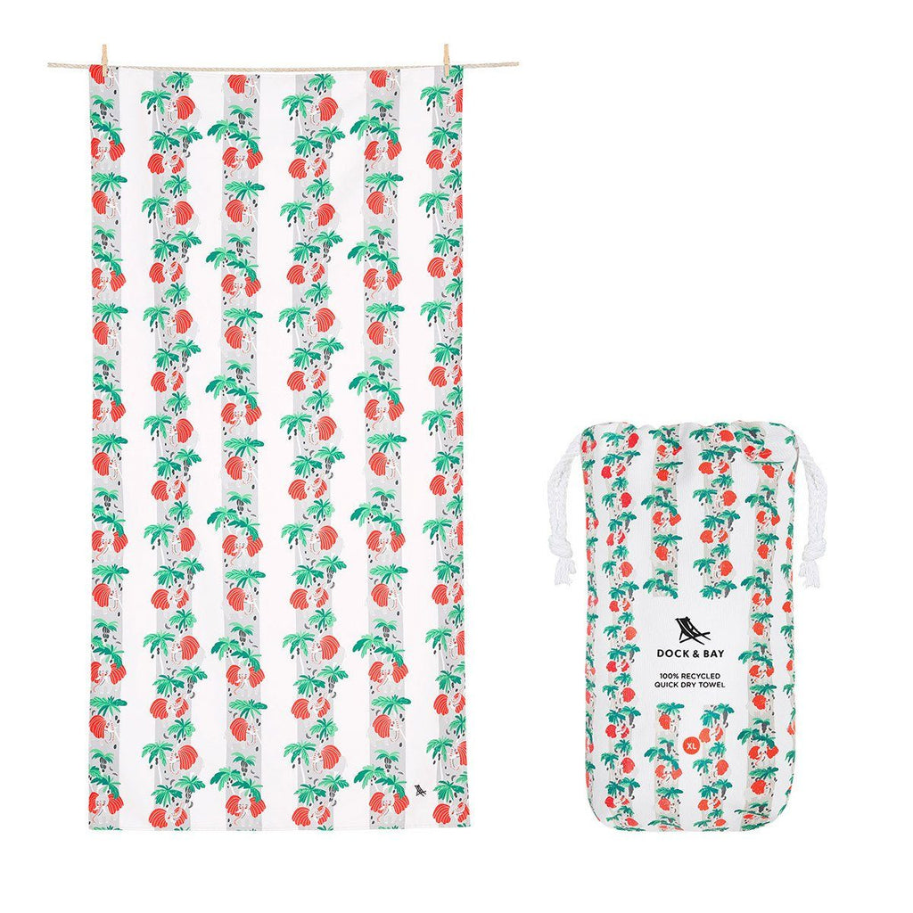 Beach Towel Jungle Collection XL 100% Recycled