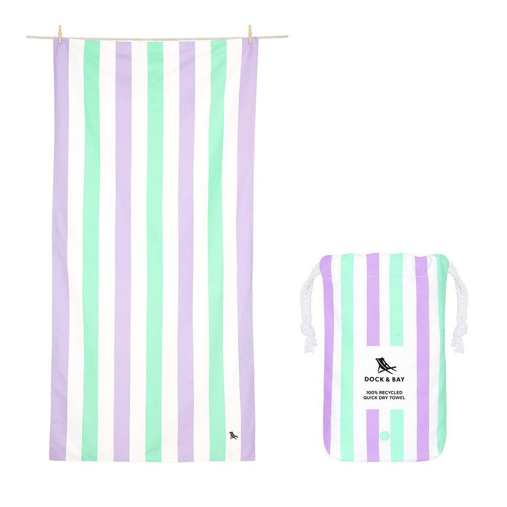 Beach Towel Summer Collection L 100% Recycled