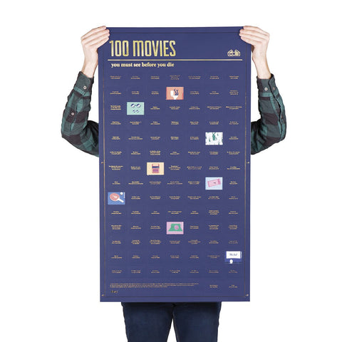 100 Movies You Must Watch Before You Die - Poster