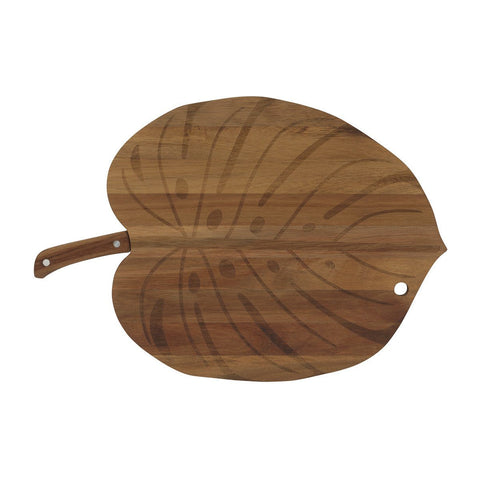 Monstera Board Serving Board + Knife