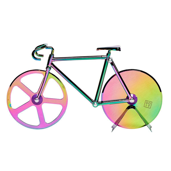 The Fixie Metallic Pizza Cutter