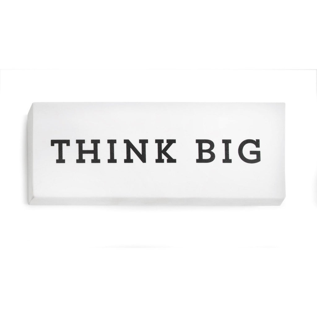 Think Big Eraser