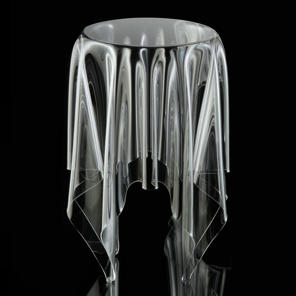 Illusion Tall Clear Table