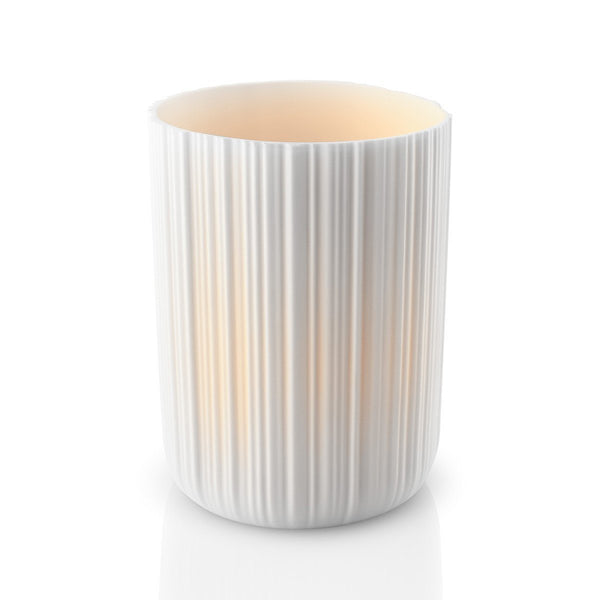 Porcelain Tea Light Holder 11cm With Led