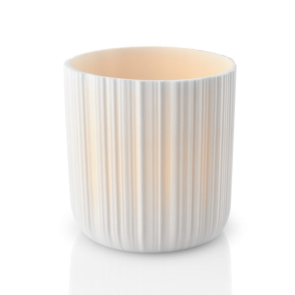 Porcelain Tea Light Holder 9cm With Led