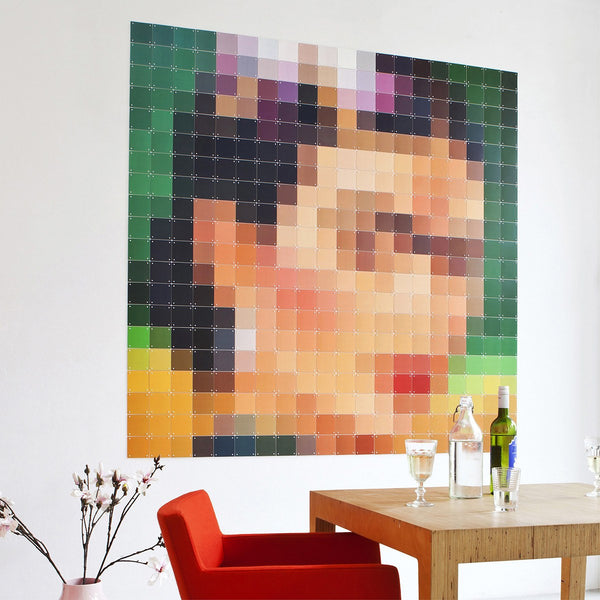 Frida Pixel Wall Art
