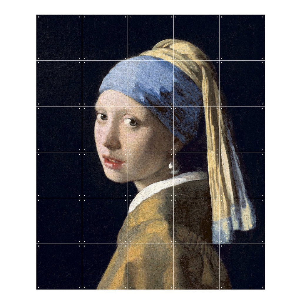 Girl With A Pearl Earring Wall Art