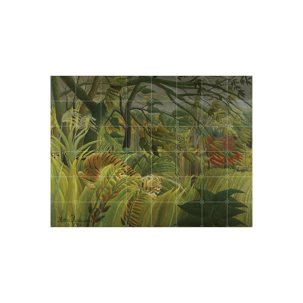 Henri Rousseau Surprised! Wall Art