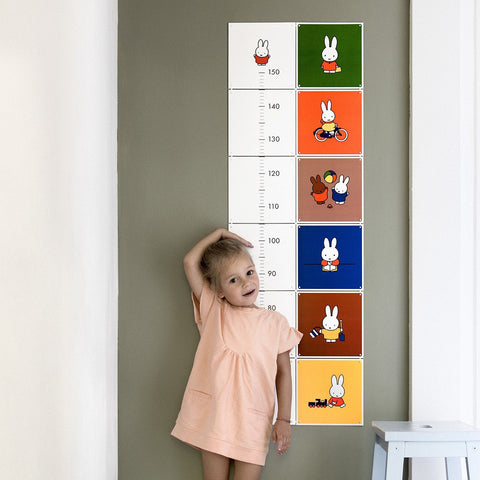 Miffy Growth Chart Wall Art