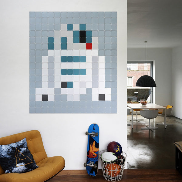 Star Wars R2-D2 Pixel Wall Art