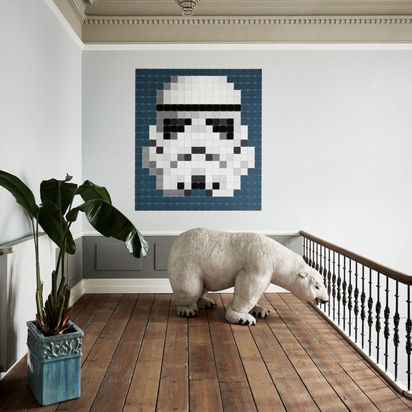 Star Wars Stormtrooper Pixel Wall Art