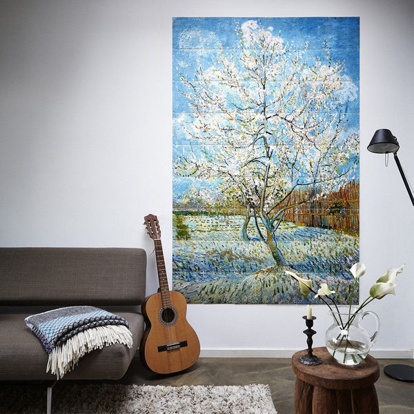The Pink Peach Tree Wall Art