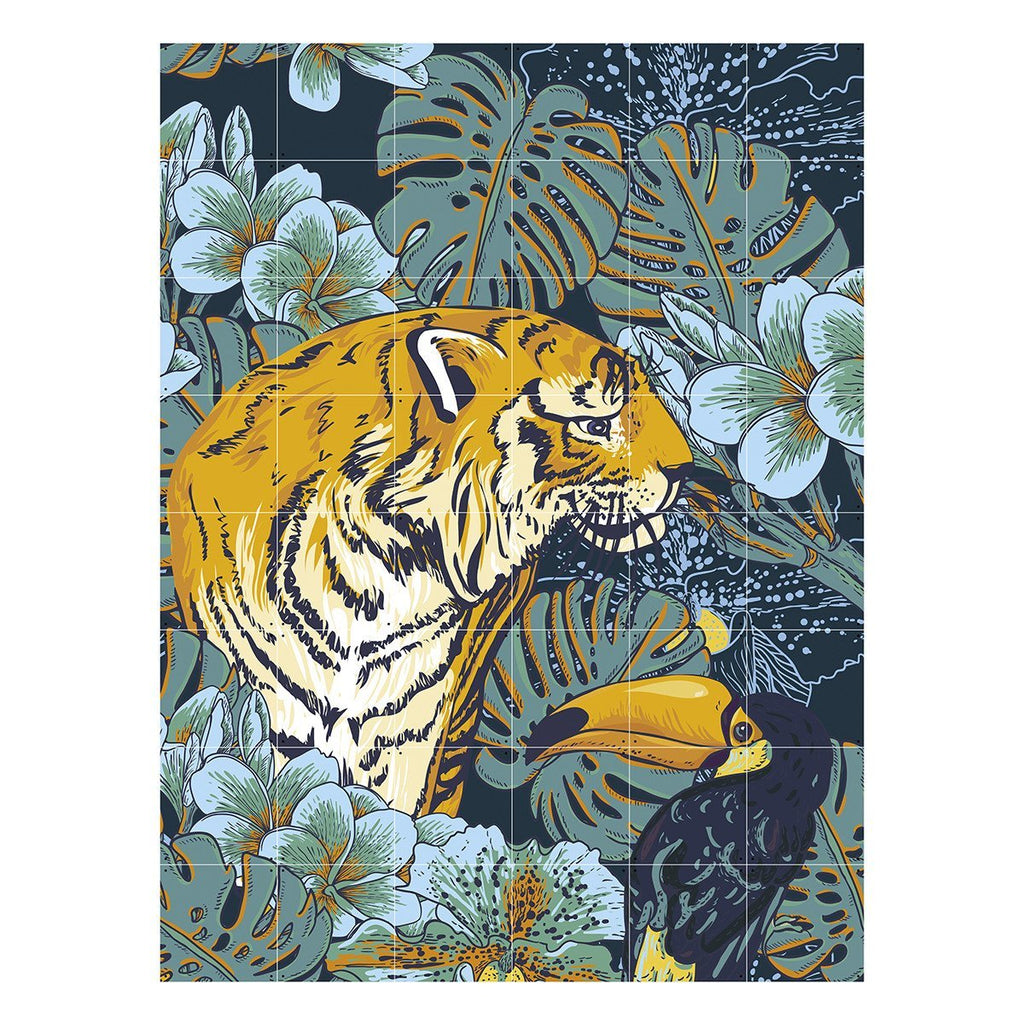 Tiger & Toucan (Double Sided) Wall Art