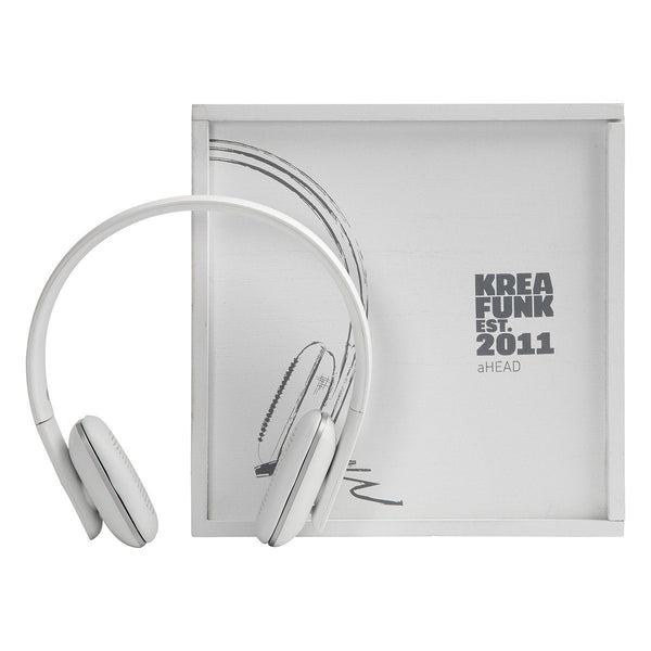 Ahead White Edition Bluetooth Headphones