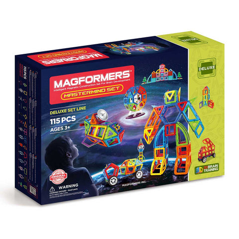 Magformers MasterMind 115 Set (Deluxe Line)