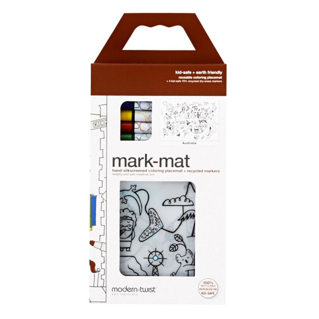 Mark Mat Placemat With Markers