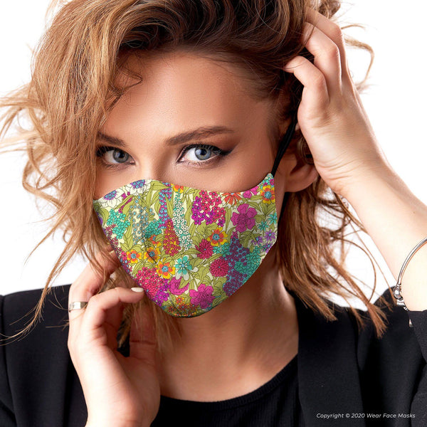 Ciara A Classic Collection Reusable Cotton Face Mask