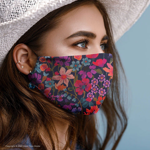 Dreams of Summer C Collection Reusable Cotton Face Mask