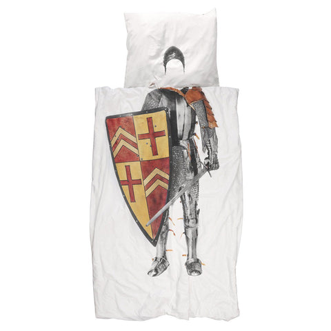 Snurk Quilt Cover Set Knight