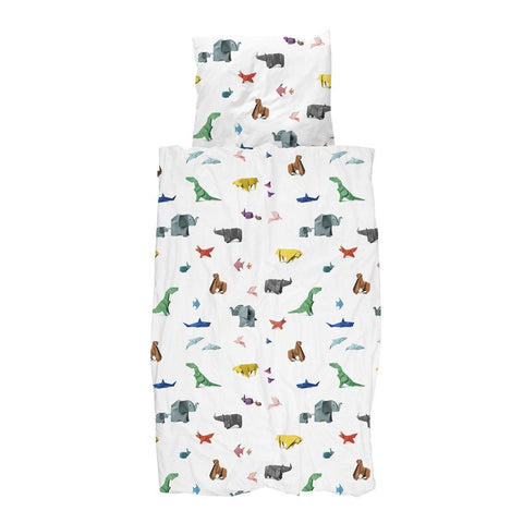 Quilt Cover Set Paper Zoo