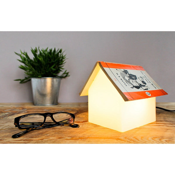 Bookrest Bedside Table Lamp Glass