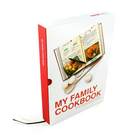 My Family Cookbook Recipes Journal