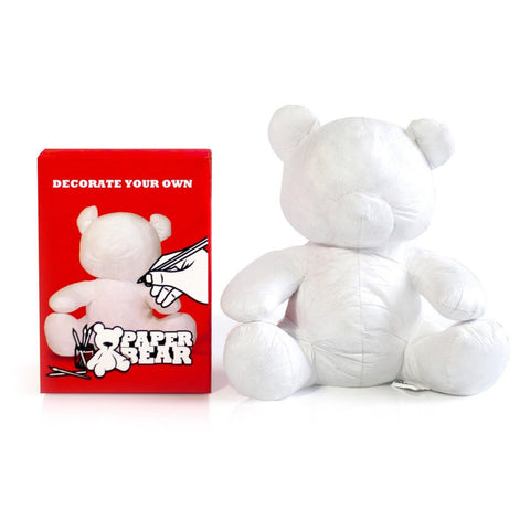 Paper Teddy Signature Bear