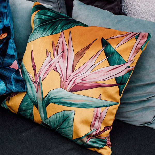 Cushion Cover Birds Of Paradise