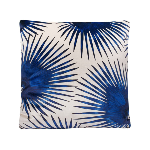 Cushion Cover Blue Palms