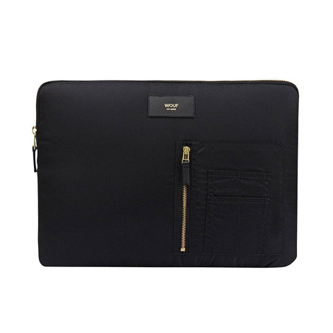 Laptop Sleeve Bomber Black