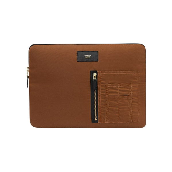 Laptop Sleeve Bomber Bronze