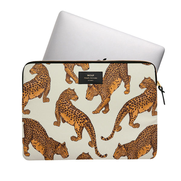 Laptop Sleeve Leopard