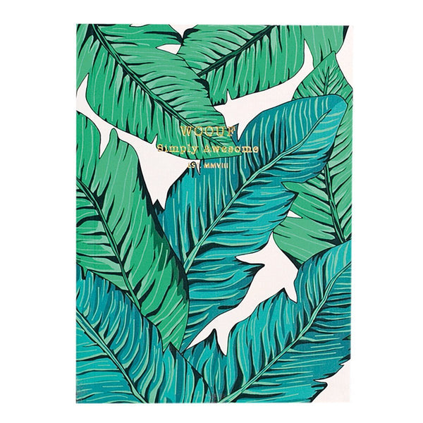 Notebook A6 Tropical
