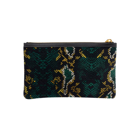 Pocket Clutch Snakeskin
