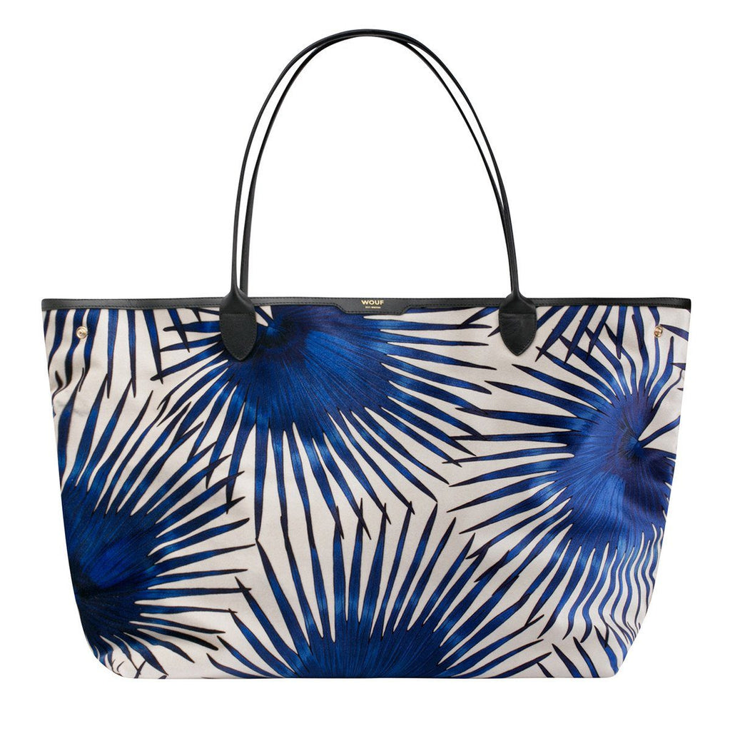 Tote Bag Blue Palms