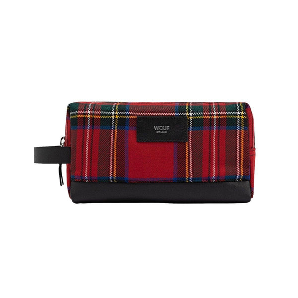 Travel Case Scotland Red