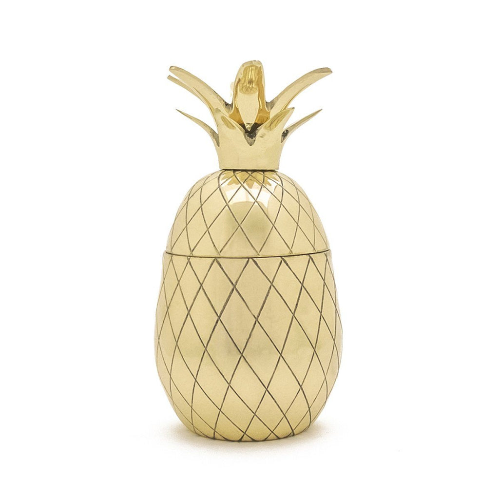 Pineapple Cocktail Tumbler Gold