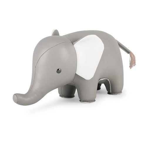 Bookend Classic Elephant Gray