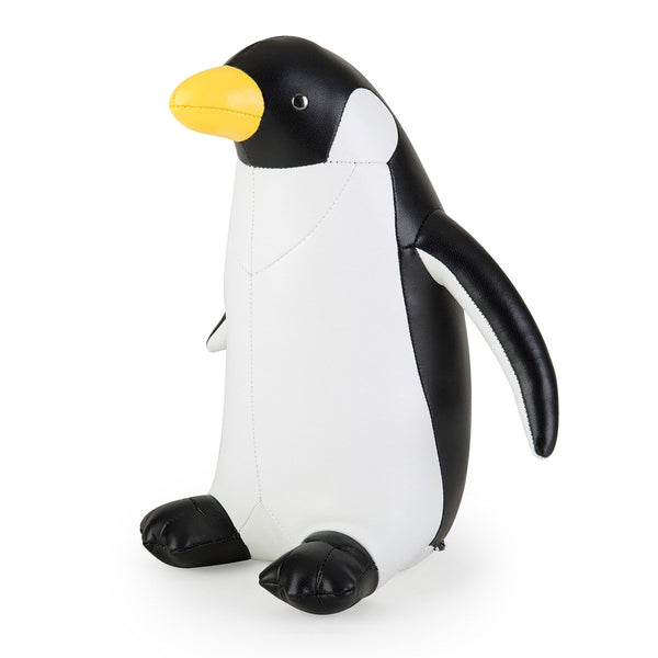 Bookend Classic Penguin Black And White