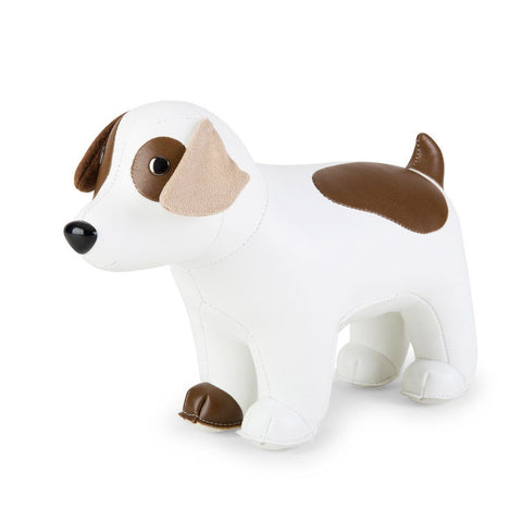 Bookend Russel Terrier White