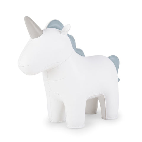 Bookend Unicorn White