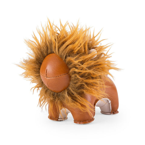 Paperweight Lion Tan