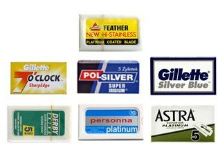 40 Razor Blade Sample Pack voor €20.95