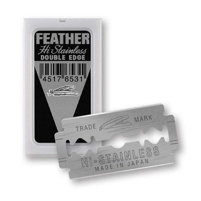 Feather Hi Stainless Steel DE Blade voor €3.00