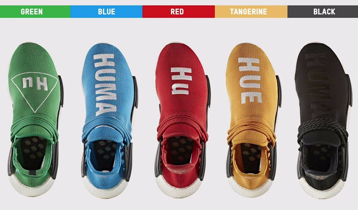 Buy UA NMD PW Human Race Scarlet at Wholesale Price Sophia