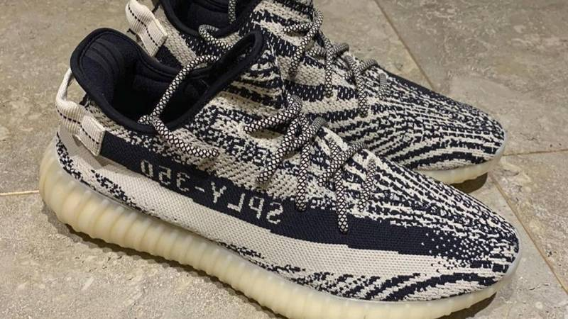 "A closer look at the Yeezy Boost 350 V2 ""Turtle Dove"" samples 