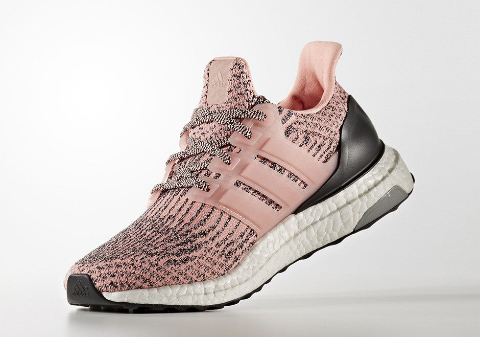How To Lace Your Sneakers / Swap Your Shoe Laces : ADIDAS Ultra Boost 3.0 Salmon Pink