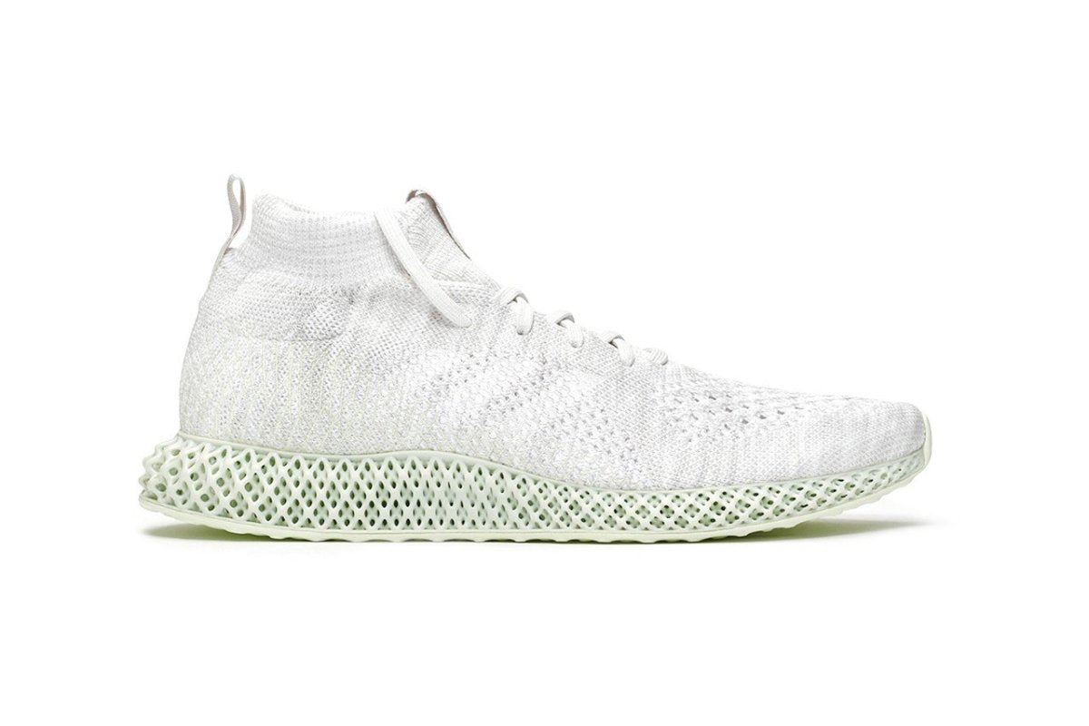 adidas Consortium Runner Mid 4D White is ready for the summer | Slickies