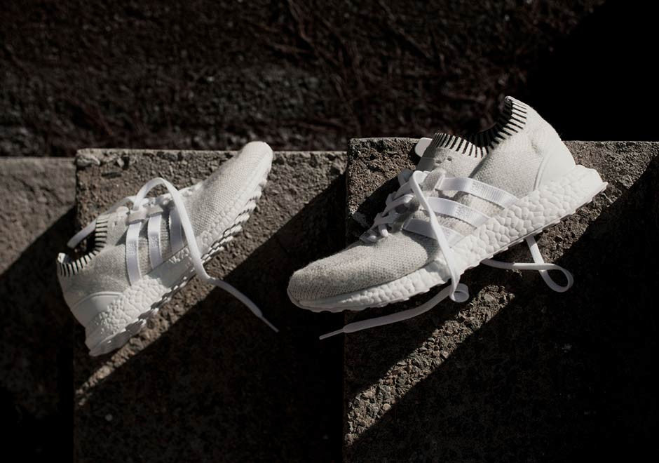 How To Lace Your Sneakers / Swap Your Shoe Laces : ADIDAS EQT Support Ultra Primeknit Vintage White