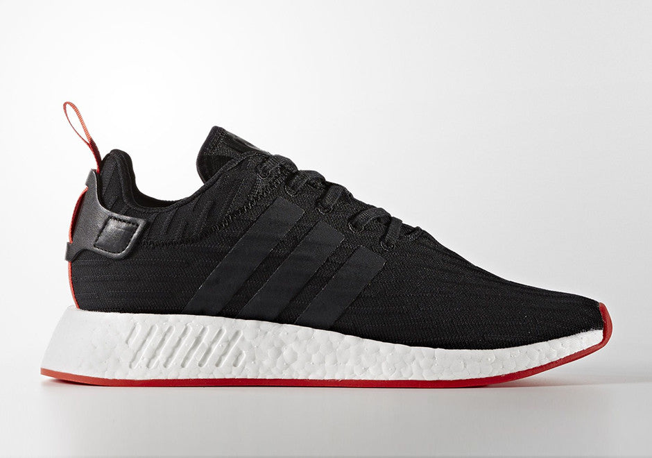How To Lace Your Sneakers / Swap Your Shoe Laces : ADIDAS NMD R2 2TONAL PACK BLACK/RED